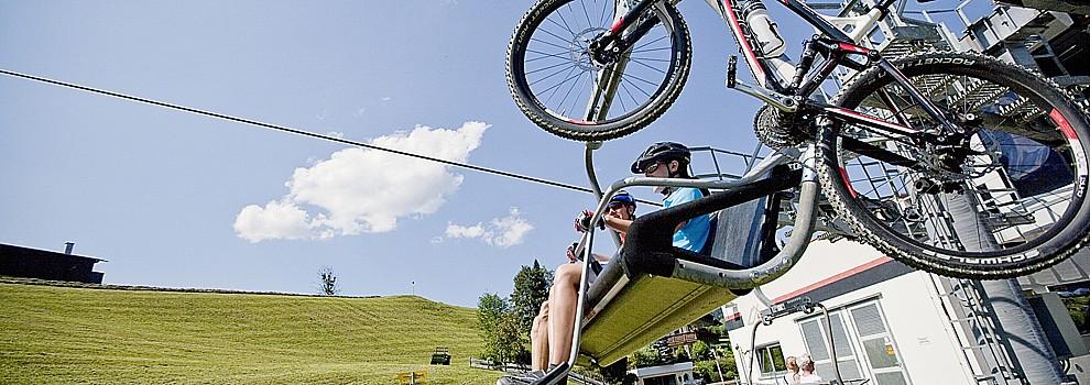 Mountainbike in Kitzbüheleralpen