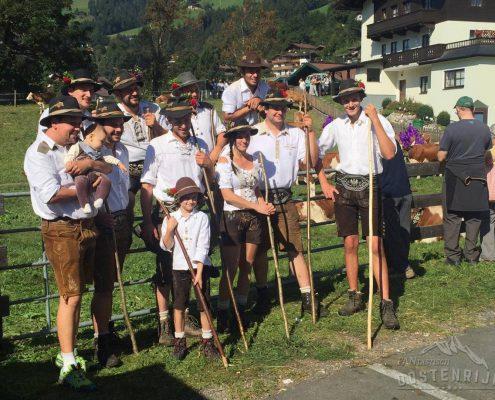 Brixen im Thale Almabtrieb