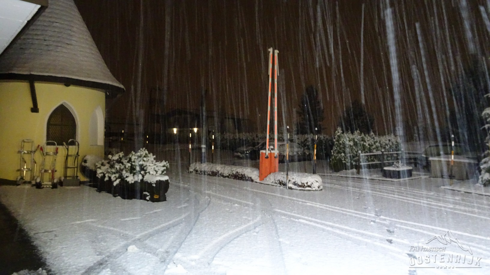 CampingWelt 1e sneeuwval
