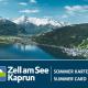 Zell am See Kaprun Zomerkaart